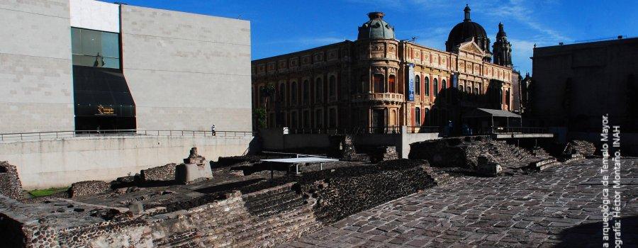 Ventanas Arqueológicas I. Oriente del centro ceremonial Mexica