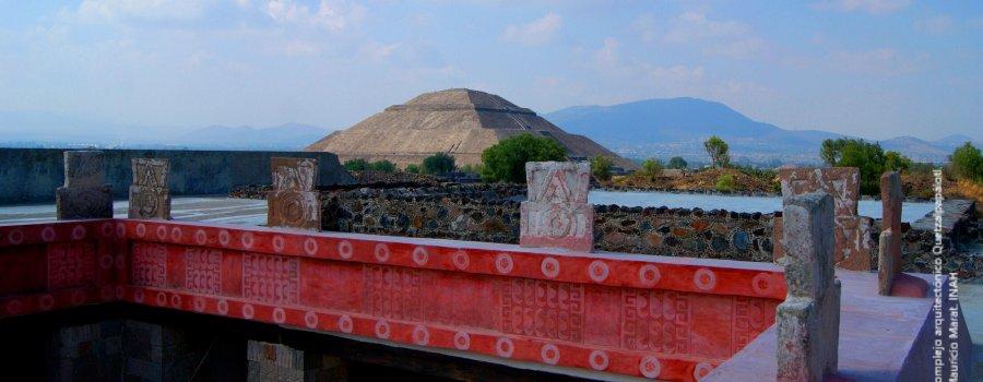 Teotihuacán una visita diferente: los palacios y la pintura mural, Estado de México