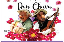 Sus flores para Don Chava