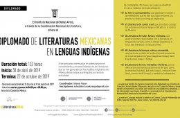 Diploma Course on Mexican Literatures in Indigenous Langu...