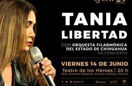 Tania Libertad con la Orquesta Filarmónica del Estado de...