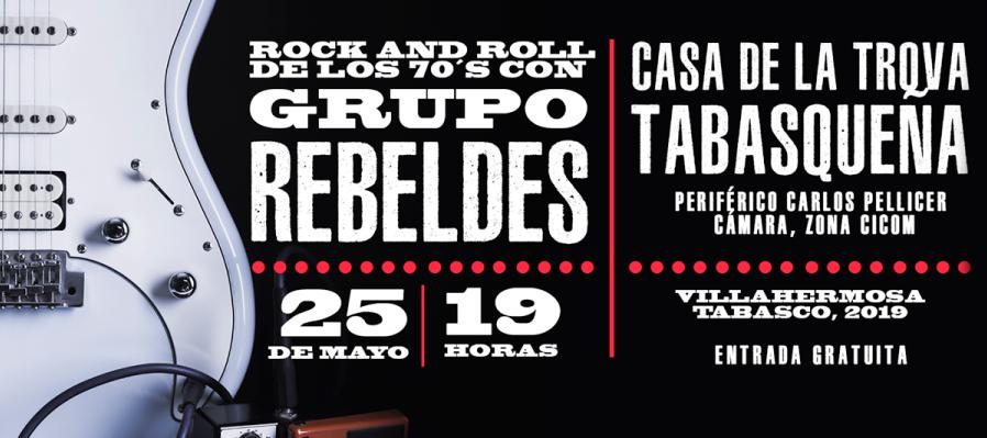 El grupo Rebeldes