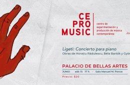 Ligeti: Concierto para piano