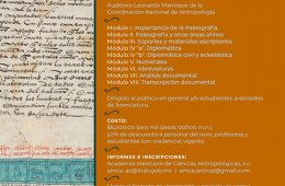 Course – Workshop: Paleography and Diplomatics in Docum...