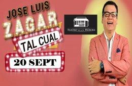 Tal cual con José Luis Zagar