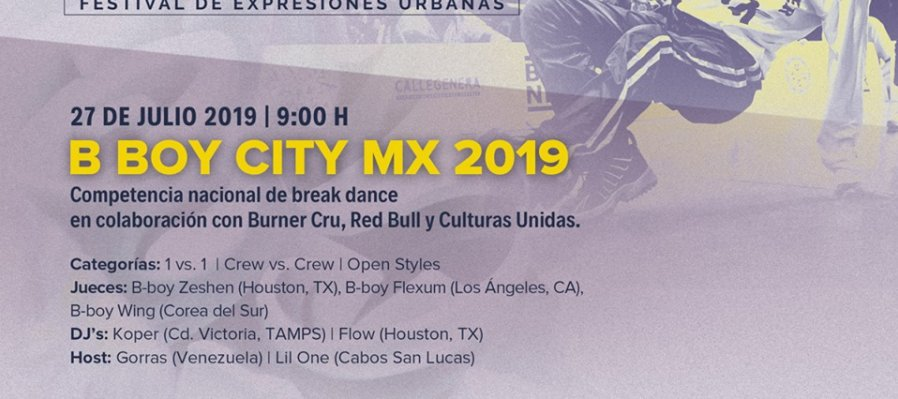 B Boy City MX 2019
