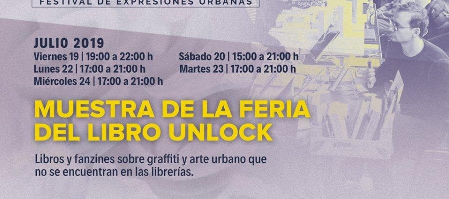Muestra de la Feria del Libro Unlock