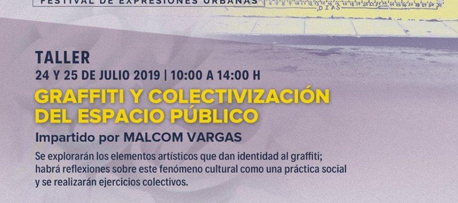 Graffiti y colectivización del espacio público