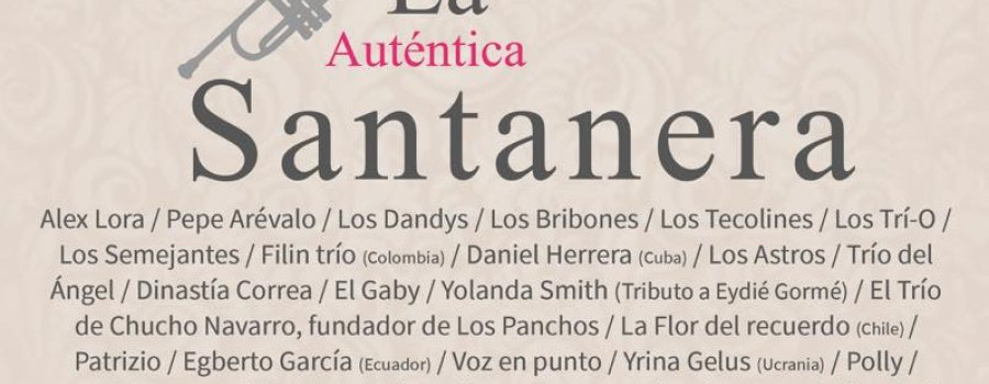 IV Festival Mundial del Bolero (dedicado a La Santanera)