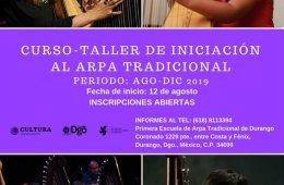 Curso-taller de iniciación de arpa tradicional