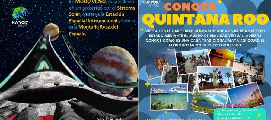 Dinosaurios y Conoce Quintana Roo