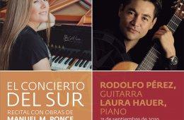 El Concierto del Sur. Música mexicana para Piano y Guita...