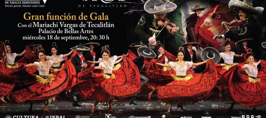 Ballet Folklórico de México de Amalia Hernández y el Mariachi Vargas de Tecalitlán