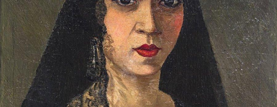 Monólogo con la Dama del pañuelo bordado
