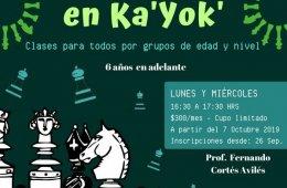 Clases de: Ajedrez en KaYok