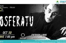 Cine Debate Científico: Nosferatu