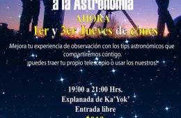 Astronomy Amateurs (Evening and Special Night)