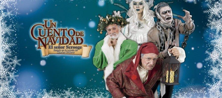 Un cuento de navidad, el señor Scrooge