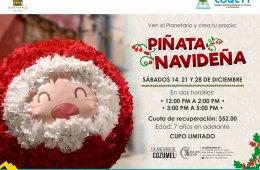 ¡Piñata Navideña!