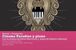Cinema Paradiso y piano