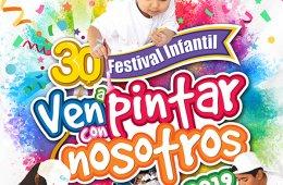 30 Festival infantil: Ven a pintar con nosotros 2019