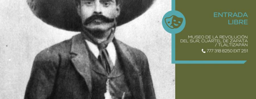 Zapata vistia caracterizada incluyente