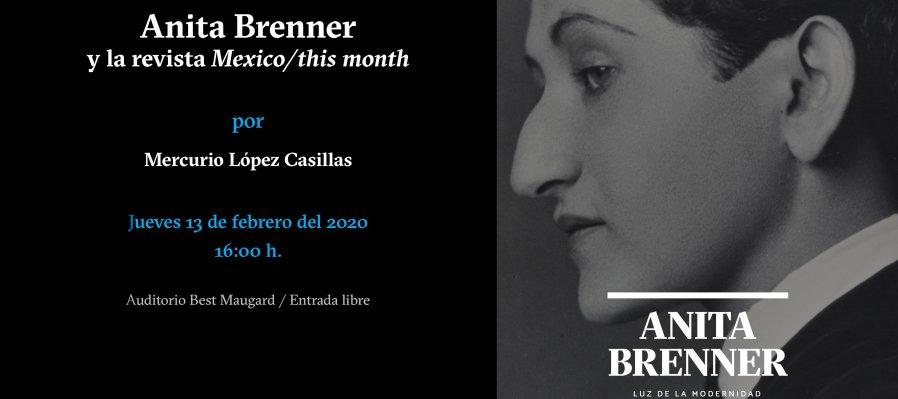 Anita Brenner y la revista Mexico | this Month