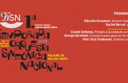 Orquesta Sinfónica Nacional. Programa 4. A-Pantalla y St...