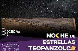 Noche de estrellas Teopanzolco