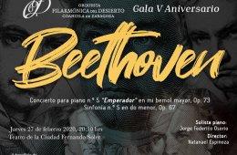 V Aniversario de la Orquesta Filarmónica del Desierto