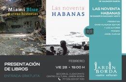 Presentación de libros: Miami Blue y otras historias y L...