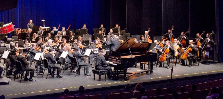 Orquesta filarmónica de Querétaro en ensamble