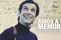 ADIÓS A LA MEMORIA