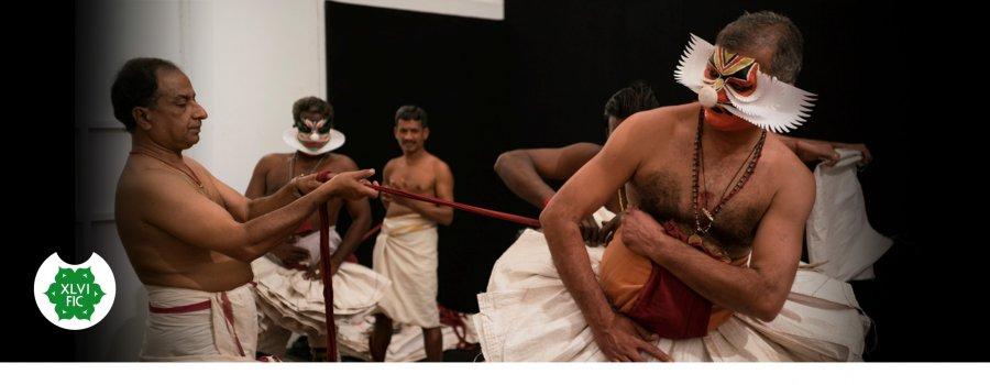 Técnica teatral Kathakali (taller práctico)