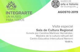 Visita especial guiada por Carolina Martínez Hernández,...