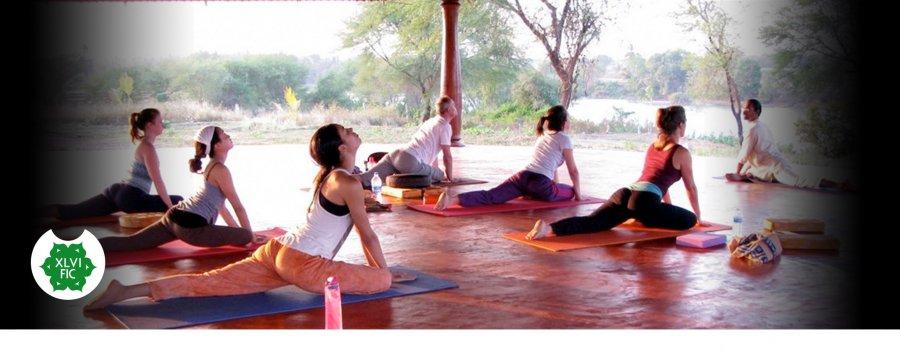 Muestra y taller de yoga
