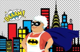 Batman's Grandma