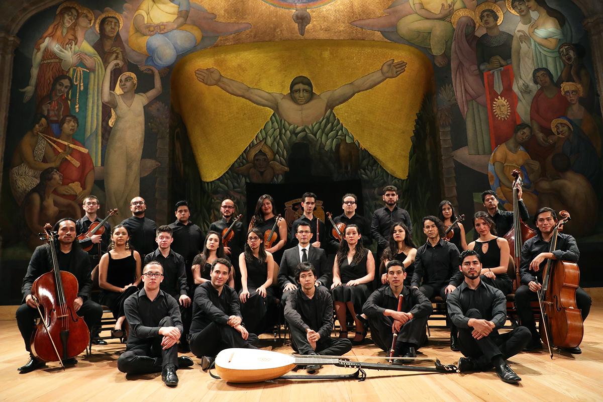 Orquesta de la Academia de Música Antigua de la UNAM