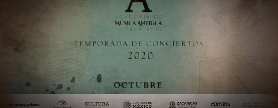 Primer concierto de la Academia de Música Antigua de Zacatecas