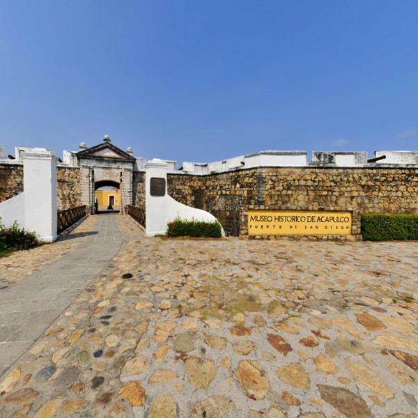 Visita virtual: Fuerte de San Diego