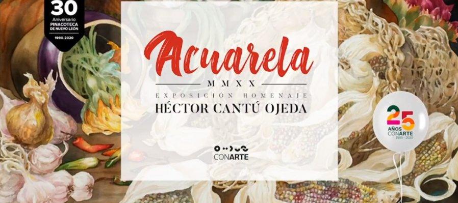Acuarela MMXX de Héctor Cantú Ojeda. Episodio 2