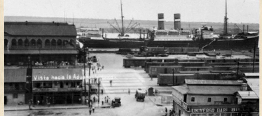 2 de enero de 1918: Captura del vapor Oaxaca en el puerto de Tampico por contrabando