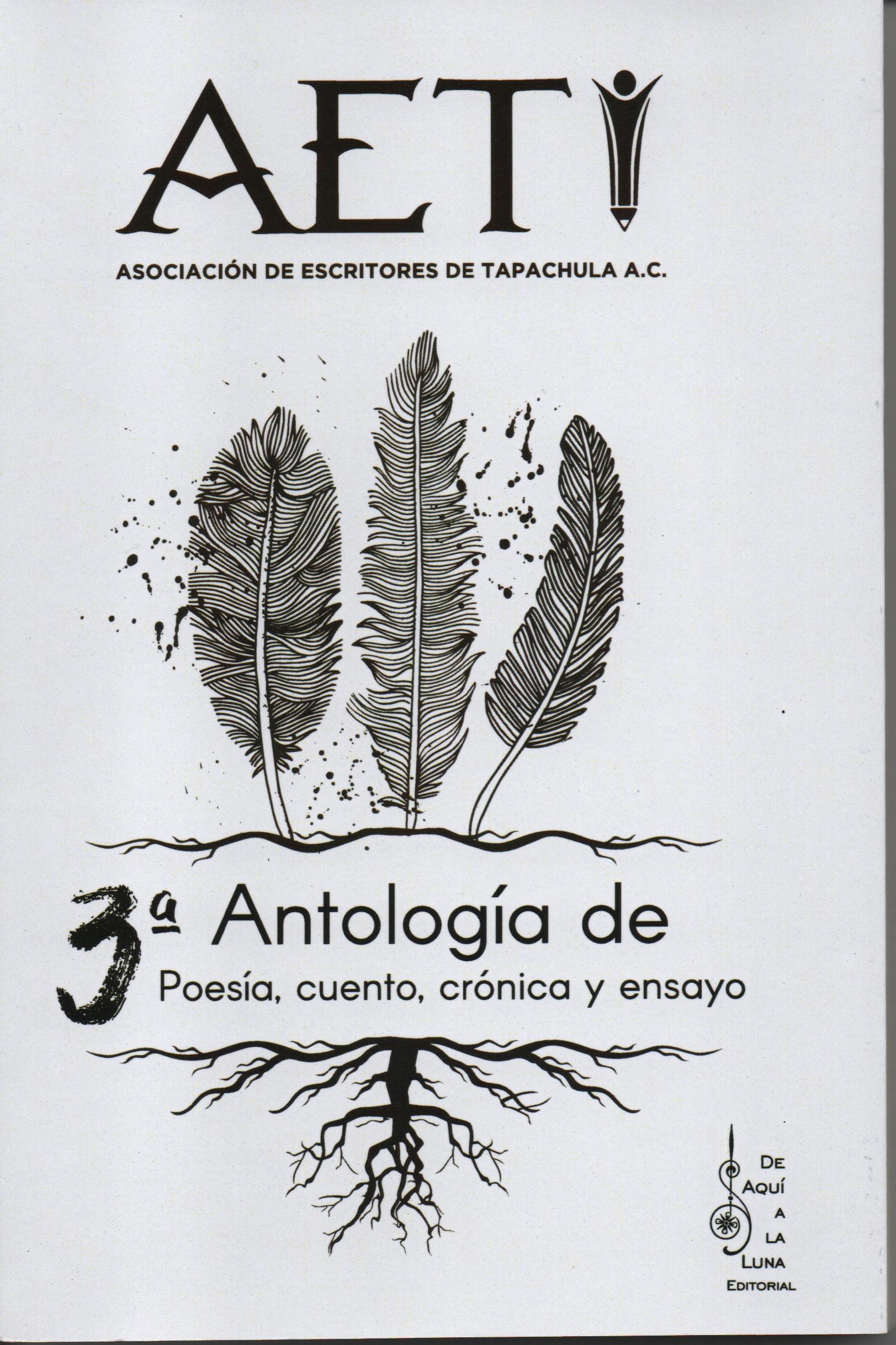 3a. Antología de poesía, cuento, crónica y ensayo