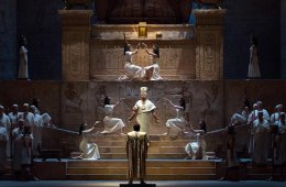 Live from the Met in New York. Aida