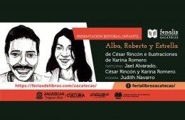 Presentación del libro: Alba, Roberto y Estrella