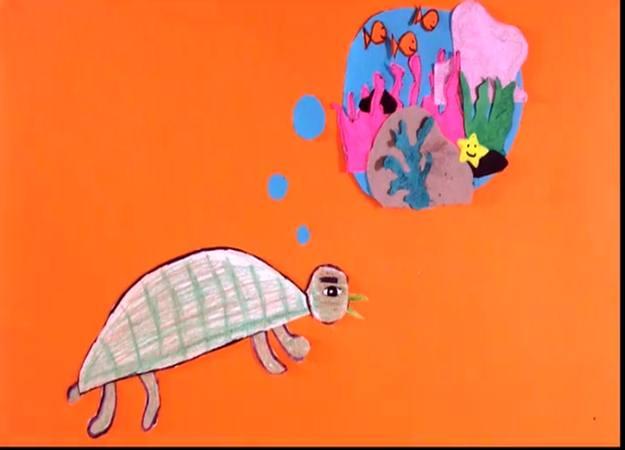 Proyección de cortometrajes infantiles Colectivo Cine Bajo cielo. Gira Oaxaca 2017. Alebrije en el puerto