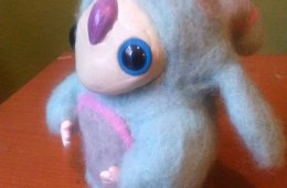 Textures and Colors. Alebrijes Made with Felting  Techniq...