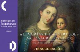 Alegorías de las virtudes arte sacro Siglo XVI - XX