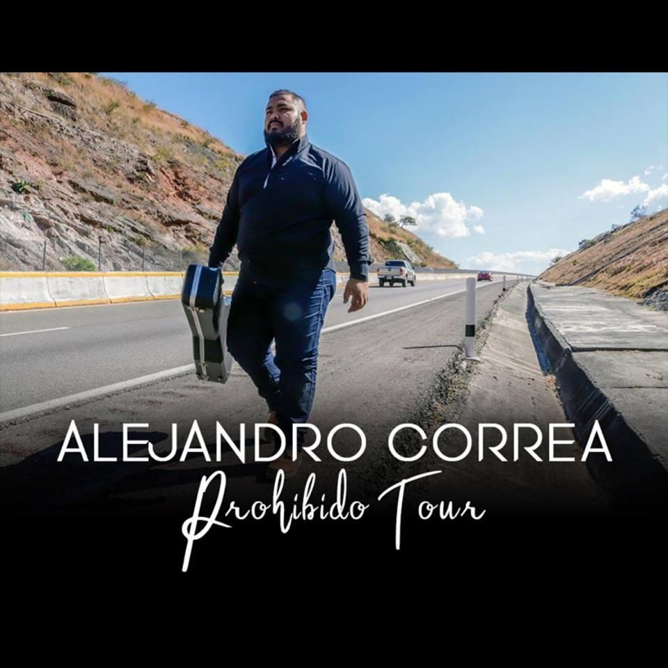 Alejandro Correa. Prohibido Tour