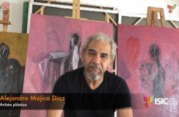 Alejandro Mojica en charla sobre sus obras a través de l...